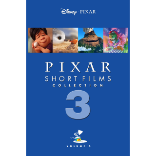 Pixar Short Films Collection: Volume 3 HD Google Play Code