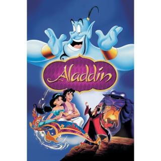 Aladdin (Animated) HD Google Play Code