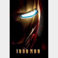 Iron Man 1 4k MA Code
