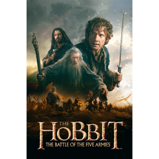 The Hobbit: The Battle of the Five Armies HD MA Code (Extended Edition)