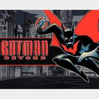 Batman Beyond Complete Series HD Vudu Code