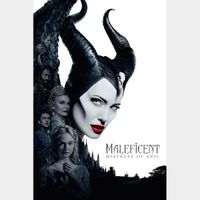 Maleficent: Mistress of Evil 4k MA Code