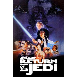Star Wars Episode 6 - Return of the Jedi - HD Google Play code