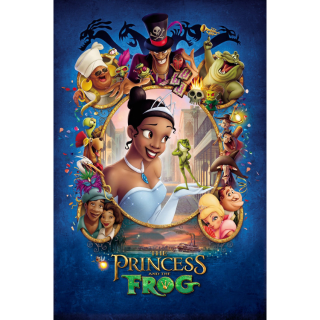 The Princess and the Frog 4k MA Code