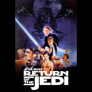 Star Wars Episode 6 - Return of the Jedi - 4k MA Code