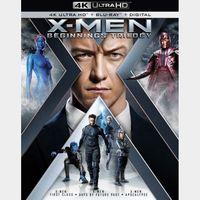 X-Men Beginnings Trilogy 4k MA Code