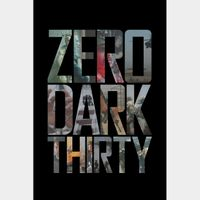 Zero Dark Thirty HD MA Code