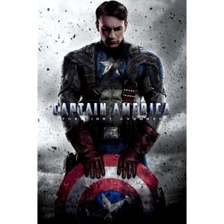 Captain America: The First Avenger 4k MA Code