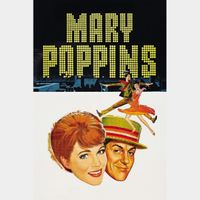 Mary Poppins (1964) HD Google Play Code