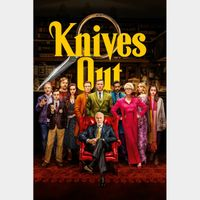 Knives Out 4K Vudu or Itunes Code