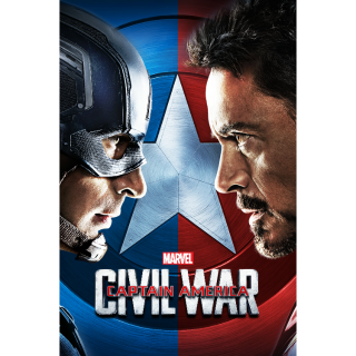 Captain America: Civil War 4k MA Code