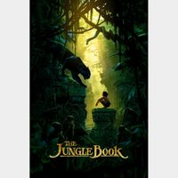 The Jungle Book (Live) 4k MA Code
