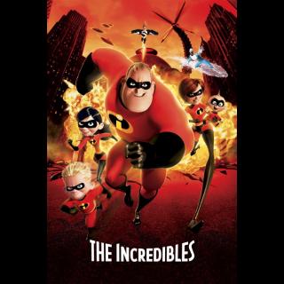 The Incredibles 1 4k MA Code