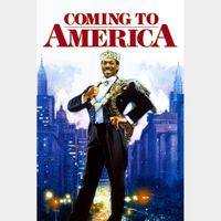 Coming to America 4k Vudu or iTunes Code