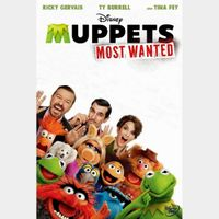 Muppets Most Wanted HD MA Code