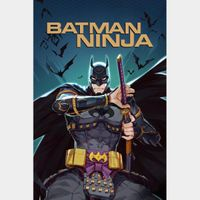 Batman Ninja HD MA Code