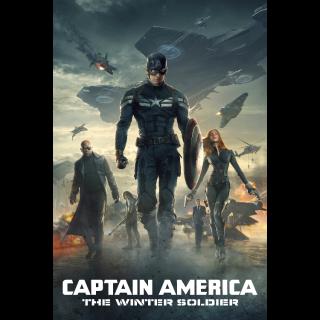 Captain America: The Winter Soldier 4k MA Code