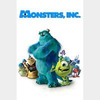 Monsters, Inc. 4k MA Code