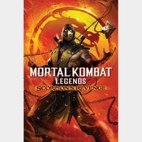 Mortal Kombat Legends: Scorpion Revenge HD MA Code