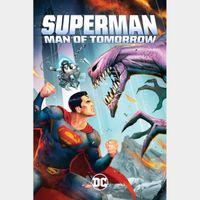 Superman: Man of Tomorrow 4k MA Code
