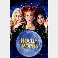 Hocus Pocus 4k MA Code