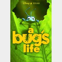 A Bug's Life 4k iTunes Code (Will port MA)