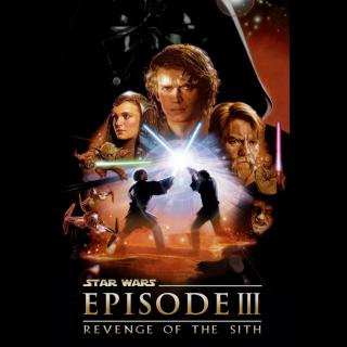 Star Wars: Episode III - Revenge of the Sith HD Google Play Code