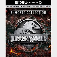 Jurassic Park 1-5 4k MA Code