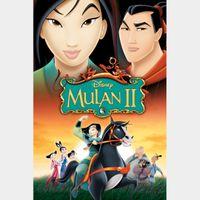 Mulan II HD MA Code