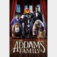 The Addams Family iTunes 4k Code