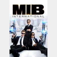 Men in Black: International 4k MA Code