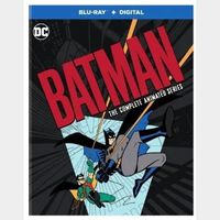 Batman The Complete Animated Series HD Vudu Code