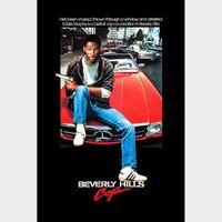 Beverly Hills Cop 4k Vudu or iTunes Code