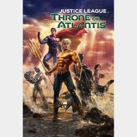 Justice League: Throne of Atlantis HD MA Code