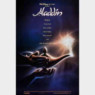 Aladdin (Animated) 4k MA Code