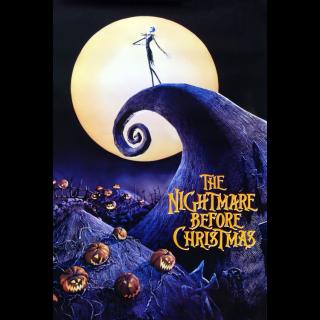 The Nightmare Before Christmas HD Google Play Code
