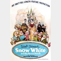 Snow White and the Seven Dwarfs HD MA Code