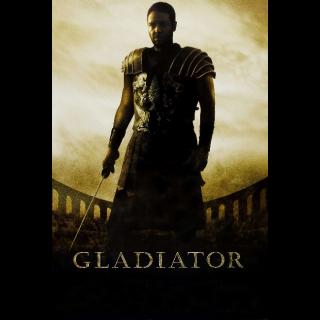 Gladiator 4K Vudu Code