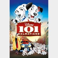 One Hundred and One Dalmatians (101) HD MA Code