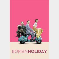 Roman Holiday HD Vudu or Itunes Code