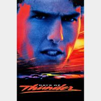 Days of Thunder 4K Vudu or iTunes (Not MA)