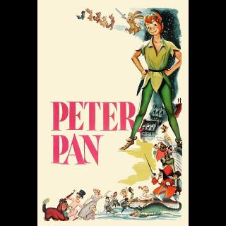 Peter Pan (Animated) HD MA Code