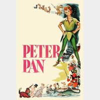 Peter Pan (Animated) HD MA Code