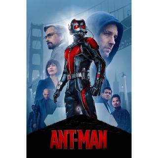 Ant-Man HD MA Code