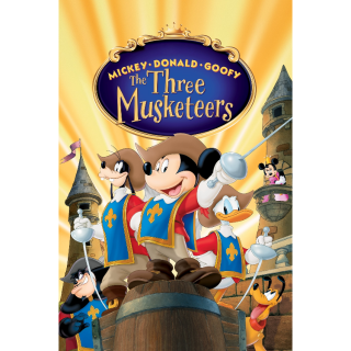 Mickey, Donald, Goofy: The Three Musketeers HD GP Code
