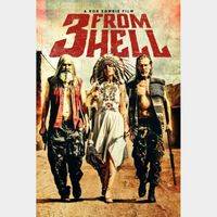 3 from Hell 4k Vudu or iTunes Code