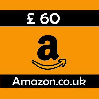 £60.00 GBP |Amazon UK Gift voucher |Instant delivery