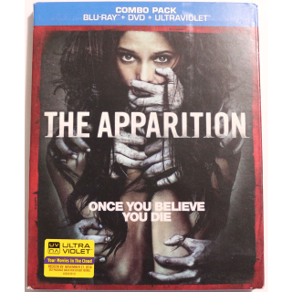The Apparition BLU RAYD DVD COMBO Horror