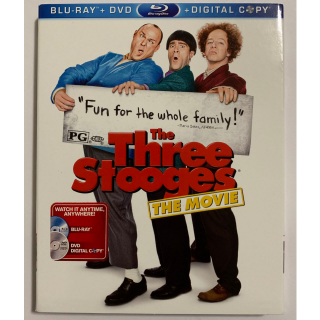 The Three Stooges BLU RAY DVD COMBO Comedy