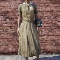 Apparel | brown asylum uniform